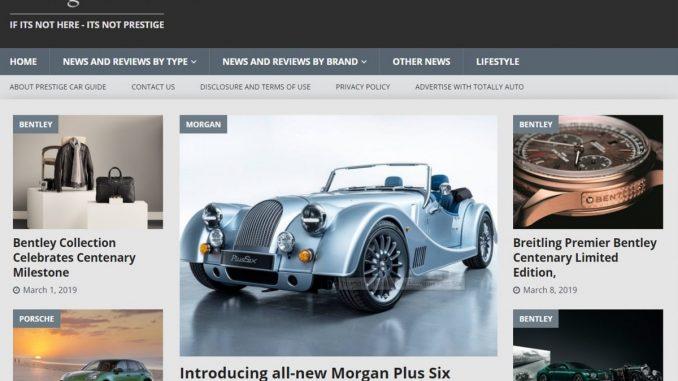 Prestige Car Guide